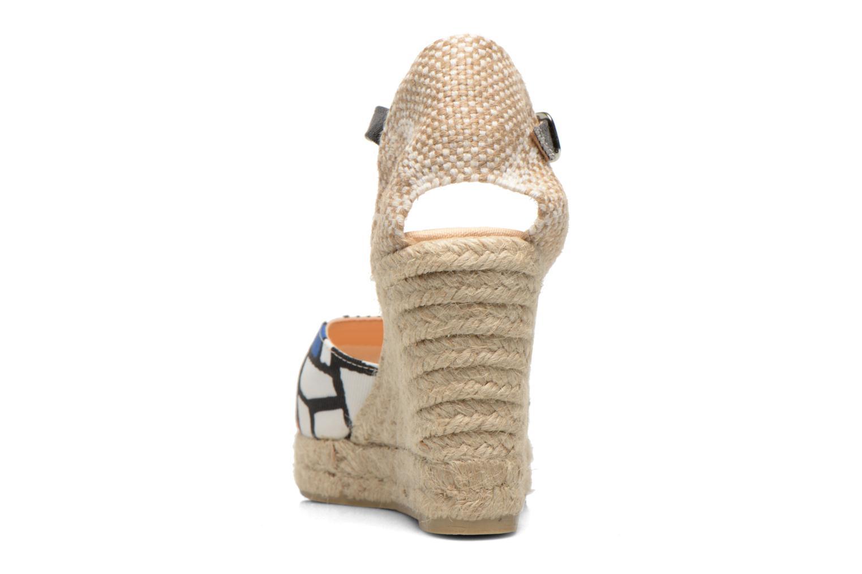 Sandalen Desigual Silla weiß ansicht von rechts