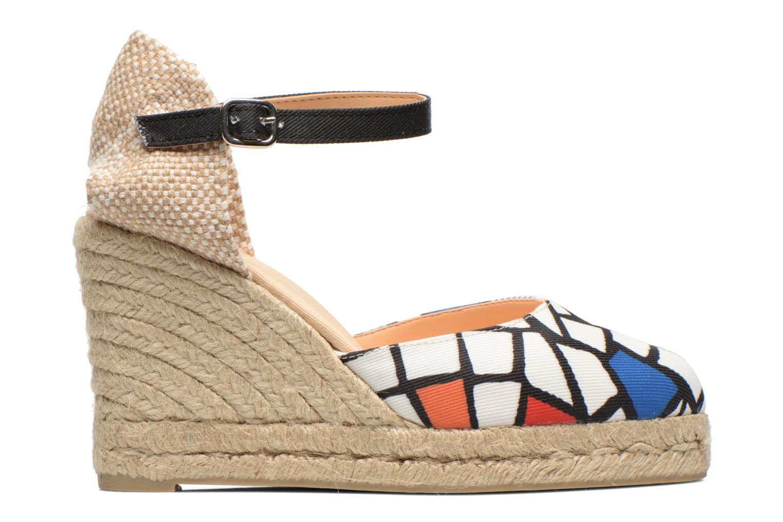 Sandalen Desigual Silla weiß ansicht von hinten