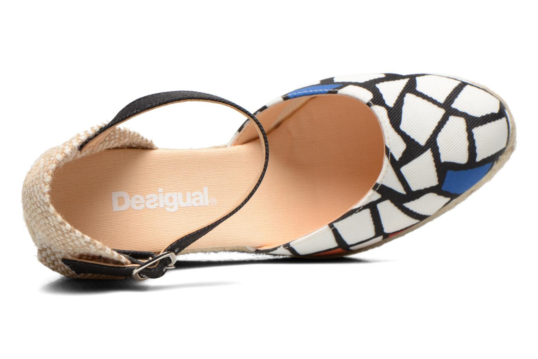 Sandalen Desigual Silla weiß ansicht von links