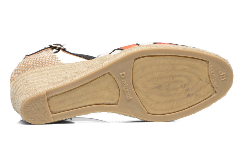 Sandalen Desigual Silla weiß ansicht von oben