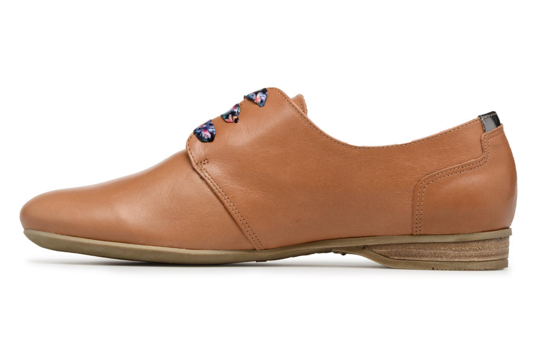 Chaussures à lacets Dorking Candy 5058 Marron vue face