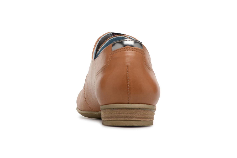Chaussures à lacets Dorking Candy 5058 Marron vue droite