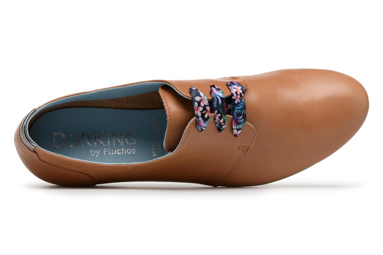 Chaussures à lacets Dorking Candy 5058 Marron vue gauche