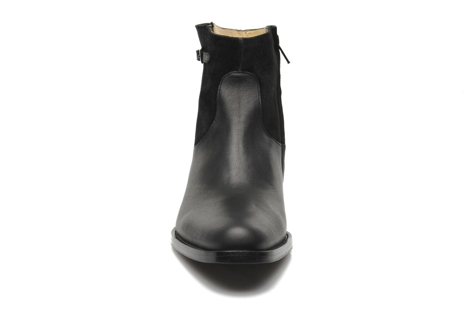 Ankle boots Free Lance Legend 4 boot buckle Black model view