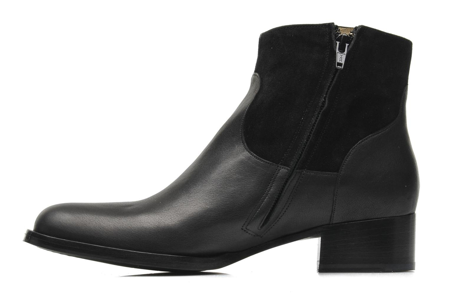 Ankle boots Free Lance Legend 4 boot buckle Black front view