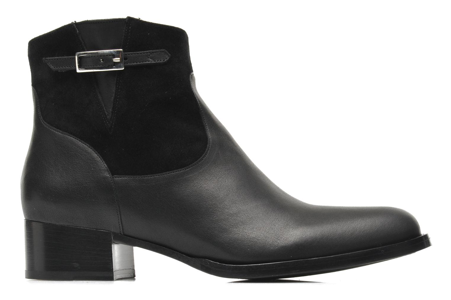 Ankle boots Free Lance Legend 4 boot buckle Black back view