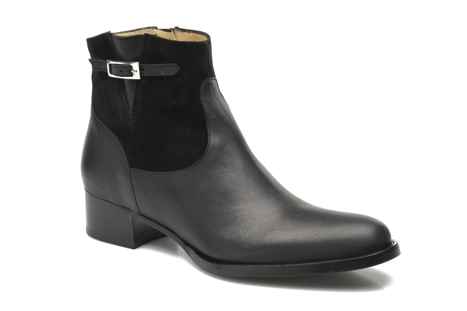 Ankle boots Free Lance Legend 4 boot buckle Black detailed view/ Pair view