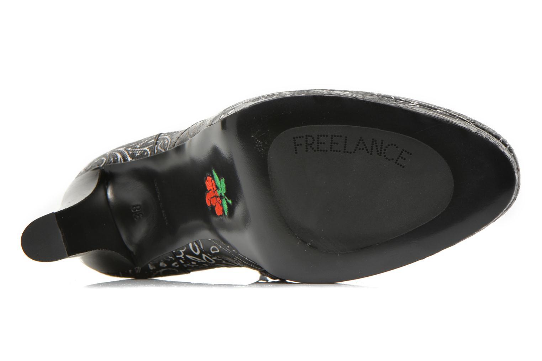 Bottines et boots Free Lance Juke 7 boot buckle Multicolore vue haut