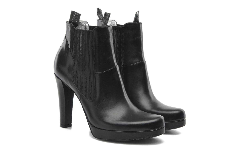 Bottines et boots Free Lance Juke 7 boot jodpur Noir vue 3/4
