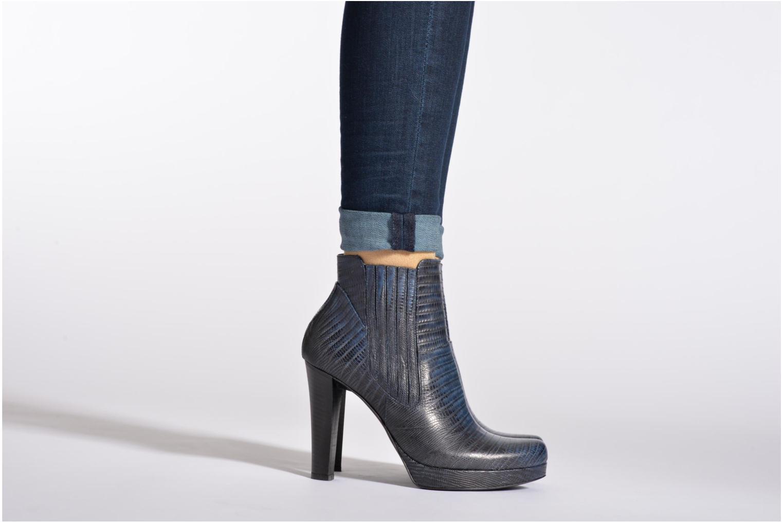 Bottines et boots Free Lance Juke 7 boot jodpur Noir vue bas / vue portée sac