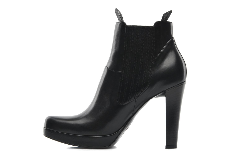 Bottines et boots Free Lance Juke 7 boot jodpur Noir vue face