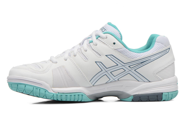 Chaussures de sport Asics Gel-Game 5 W Blanc vue face