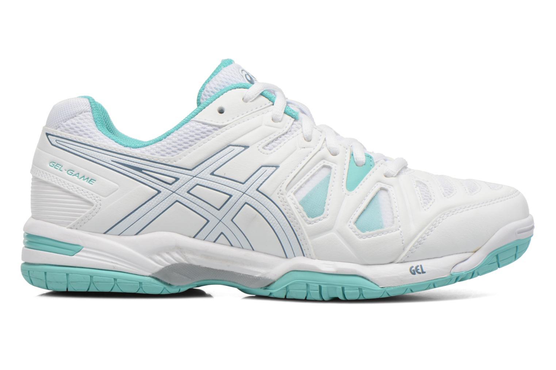 Chaussures de sport Asics Gel-Game 5 W Blanc vue derrière