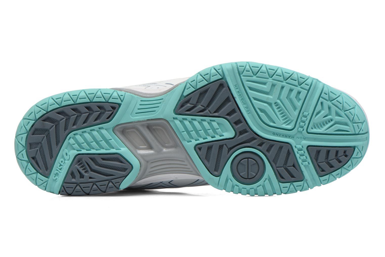 Chaussures de sport Asics Gel-Game 5 W Blanc vue haut