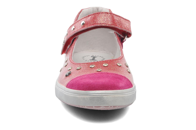 Ballerines Babybotte Kaela Rose vue portées chaussures