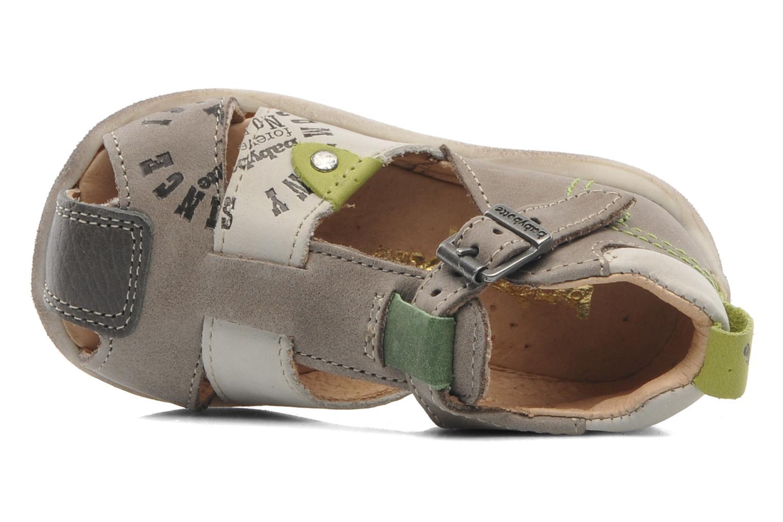 Sandalen Babybotte Gregor grau ansicht von links