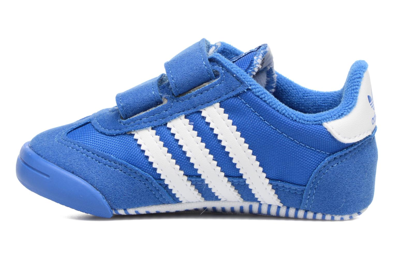 Baskets Adidas Originals Dragon L2W Crib Bleu vue face