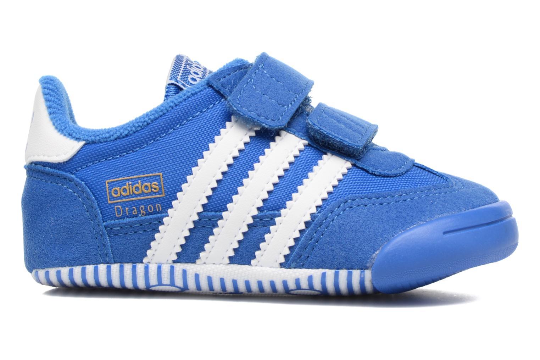 Trainers Adidas Originals Dragon L2W Crib Blue back view
