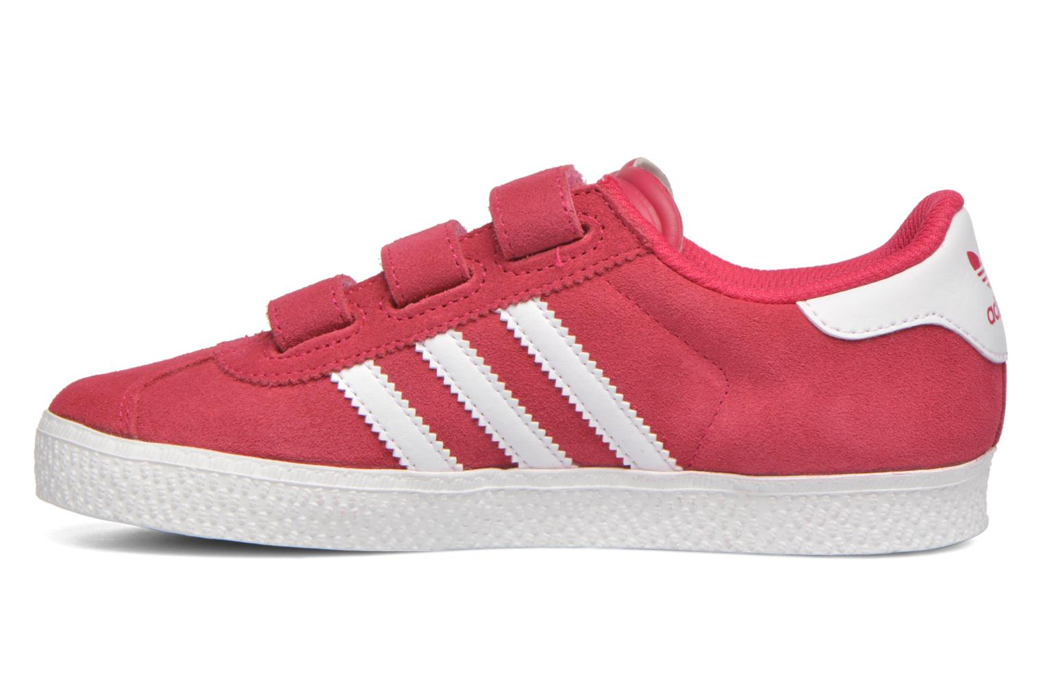 Trainers Adidas Originals GAZELLE 2 CF C Pink front view
