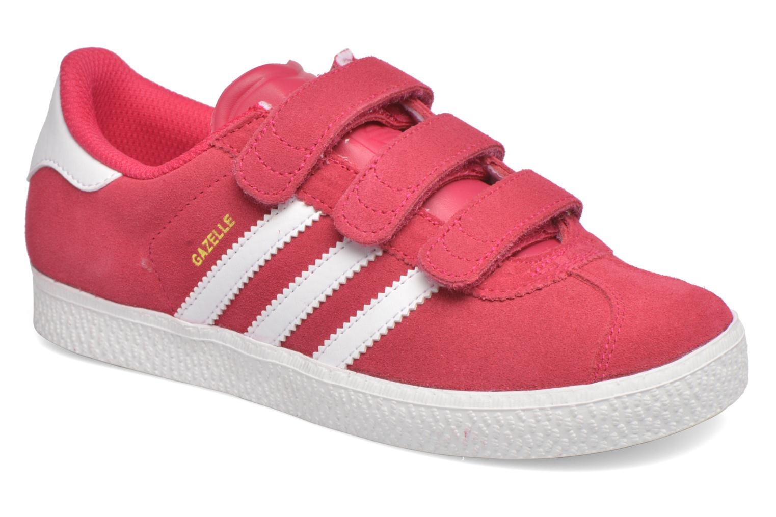 Trainers Adidas Originals GAZELLE 2 CF C Pink detailed view/ Pair view
