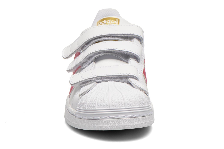 Sneakers Adidas Originals Superstar Foundation Cf C Bianco modello indossato