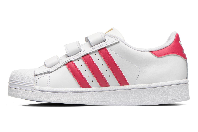 Sneakers Adidas Originals Superstar Foundation Cf C Bianco immagine frontale
