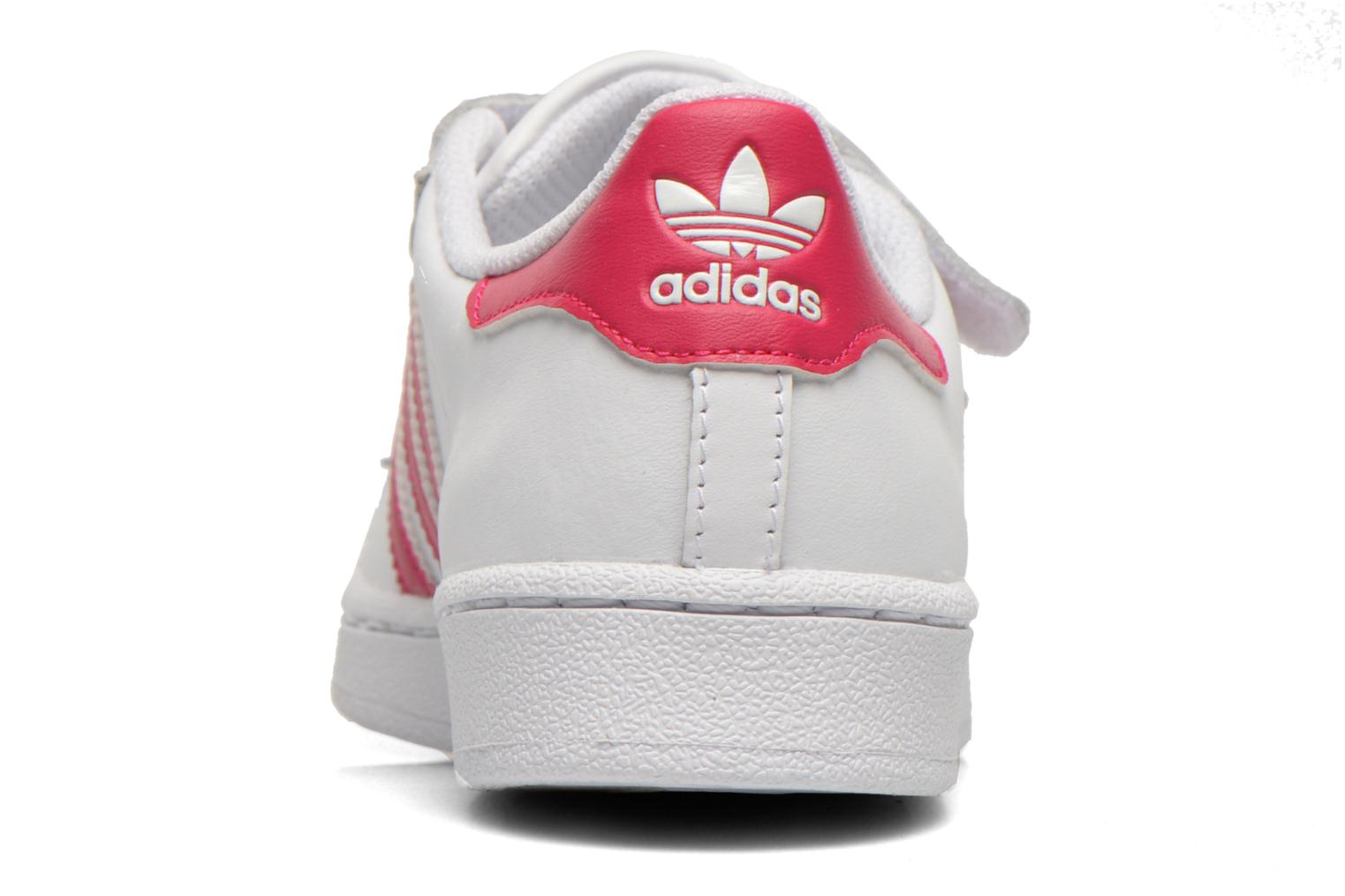 Trainers Adidas Originals Superstar Foundation Cf C White view from the right