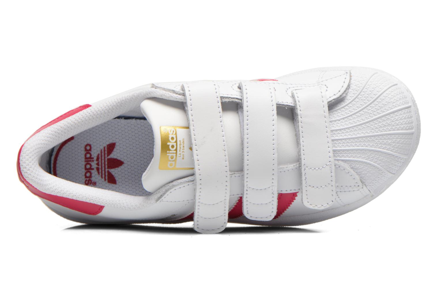 Trainers Adidas Originals Superstar Foundation Cf C White view from the left