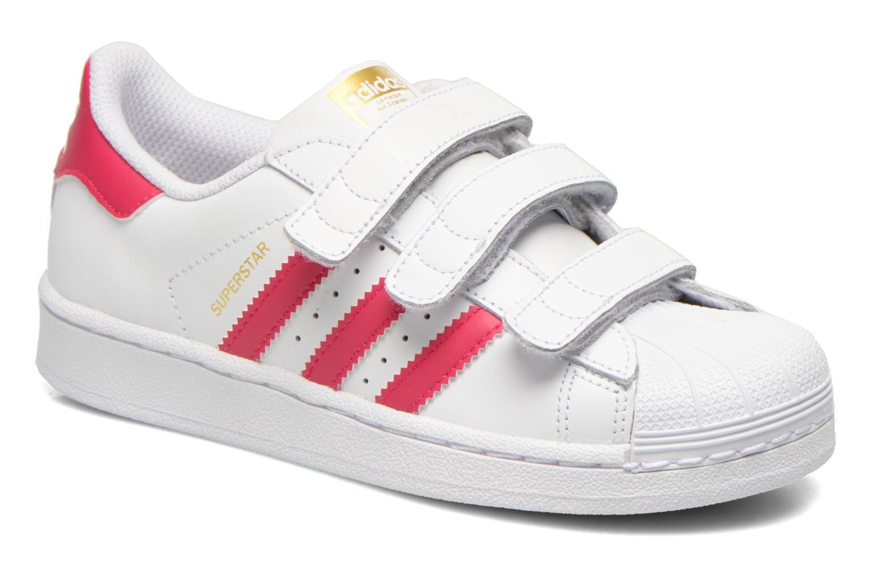 Trainers Adidas Originals Superstar Foundation Cf C White detailed view/ Pair view