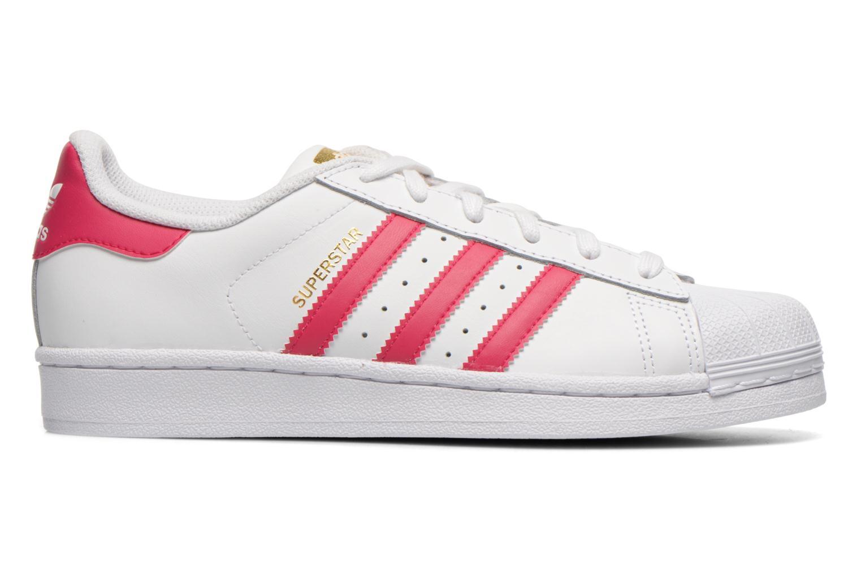 Deportivas Adidas Originals Superstar Foundation J Blanco vistra trasera