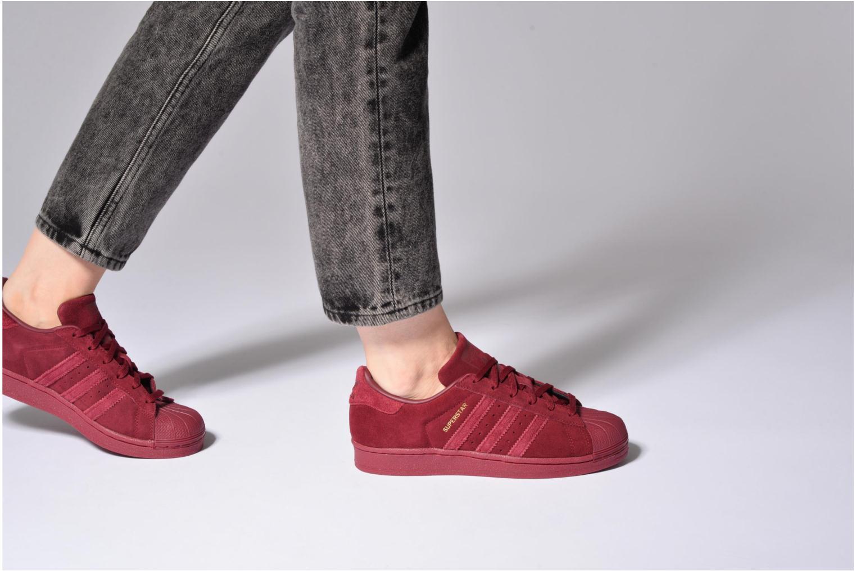 Sneakers Adidas Originals SUPERSTAR J Bianco immagine dal basso