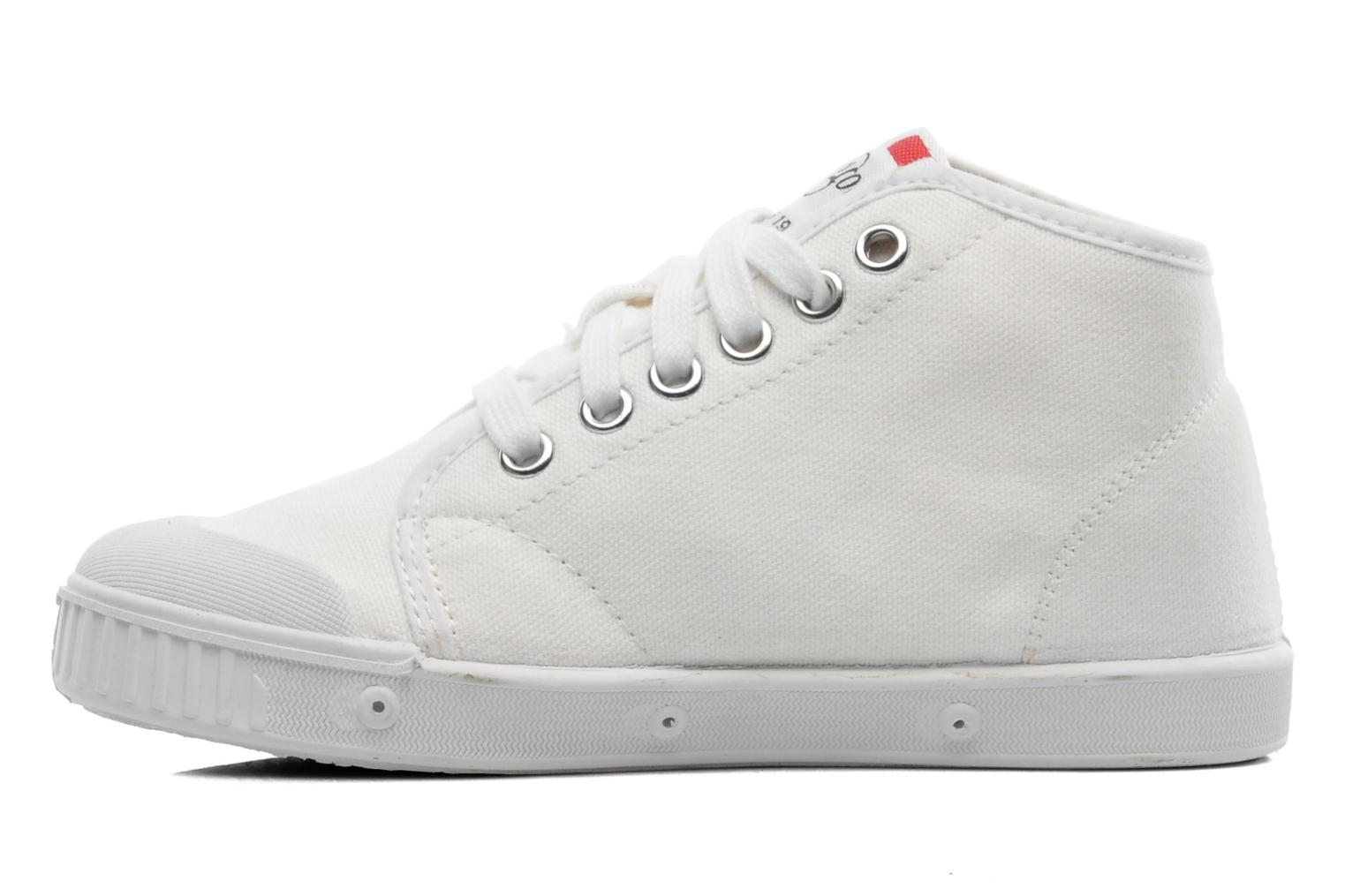 Trainers Spring Court BE1 Classic White front view