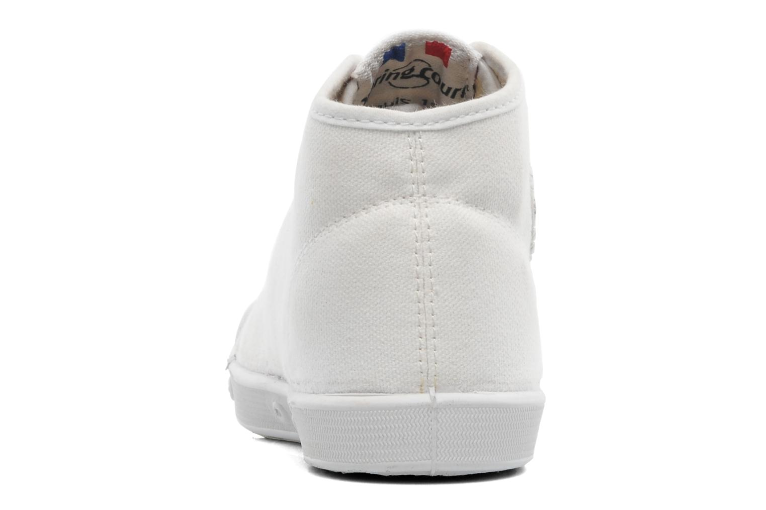 Baskets Spring Court BE1 Classic Blanc vue droite