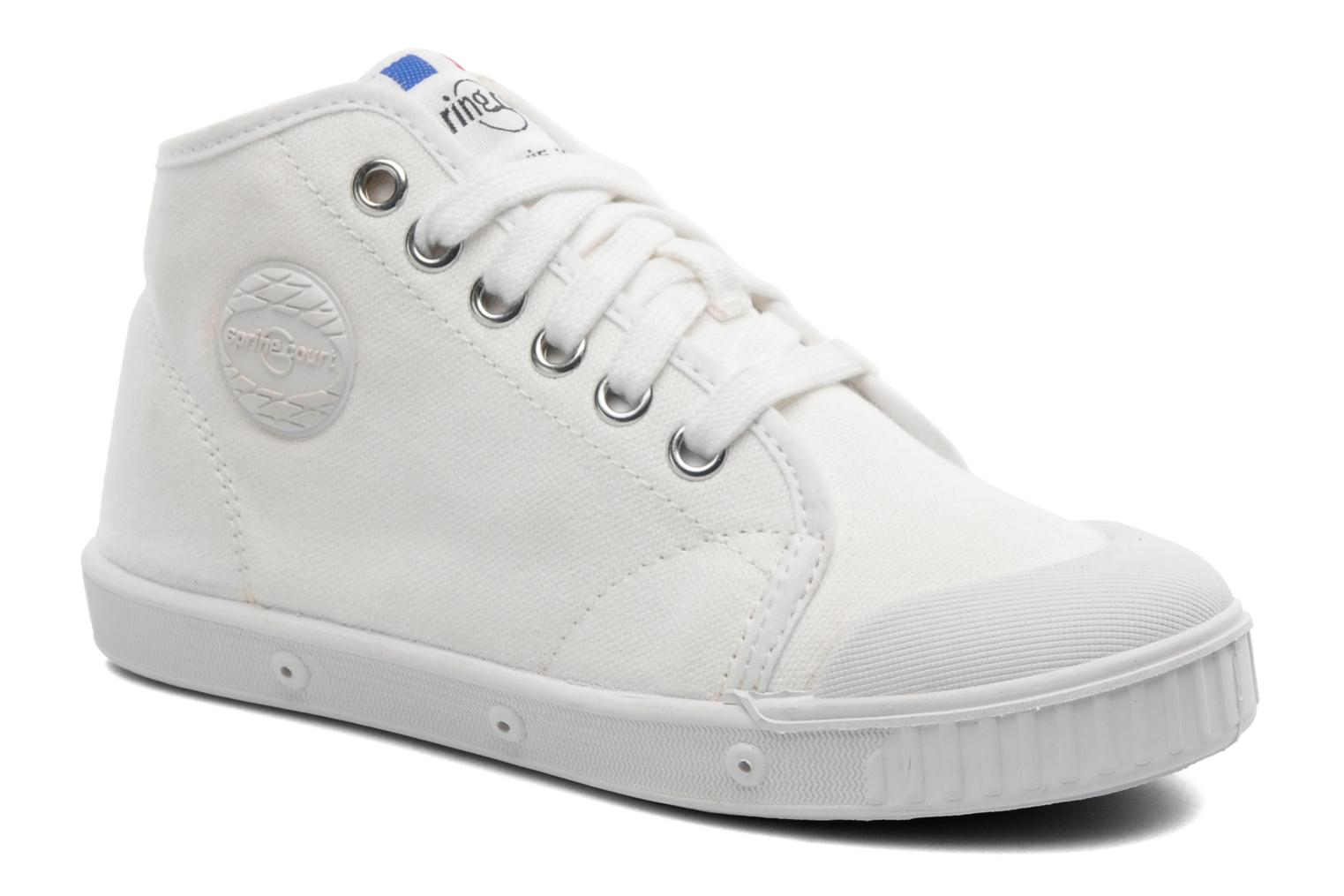 Trainers Spring Court BE1 Classic White detailed view/ Pair view