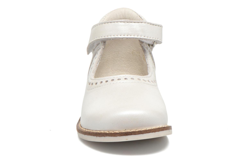 Ballerinas Babybotte Servane weiß schuhe getragen