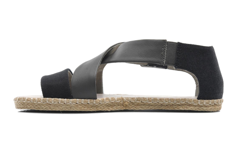 Sandalen G-Star Aria Flat Salon Strap grau ansicht von vorne