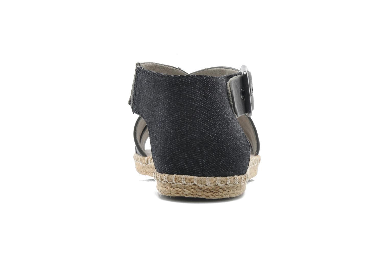 Aria Flat Salon Strap Dk Grey Lthr & Textile w/Black
