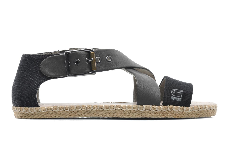 Sandalen G-Star Aria Flat Salon Strap grau ansicht von hinten