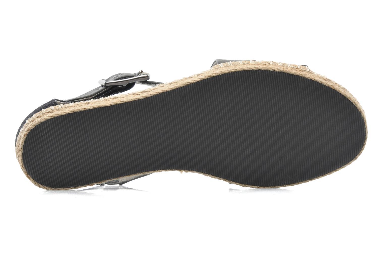 Sandales et nu-pieds G-Star Aria Flat Salon Strap Gris vue haut