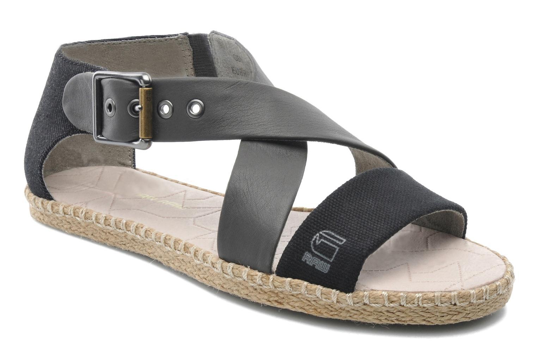 Sandalen G-Star Aria Flat Salon Strap grau detaillierte ansicht/modell