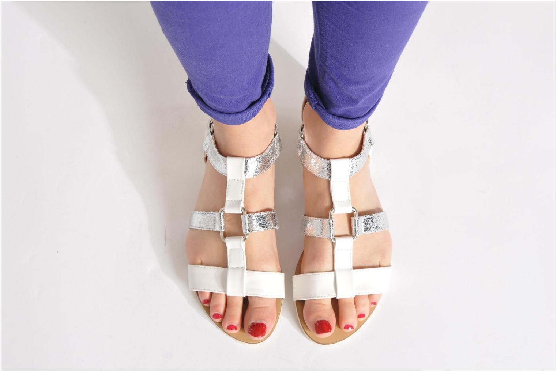 Sandales et nu-pieds Divine Factory Acrux Multicolore vue bas / vue portée sac