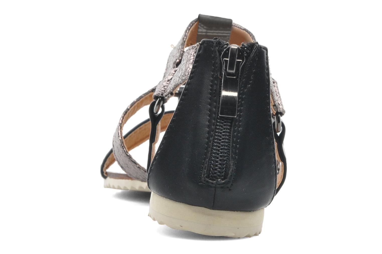 Sandales et nu-pieds Divine Factory Acrux Multicolore vue droite