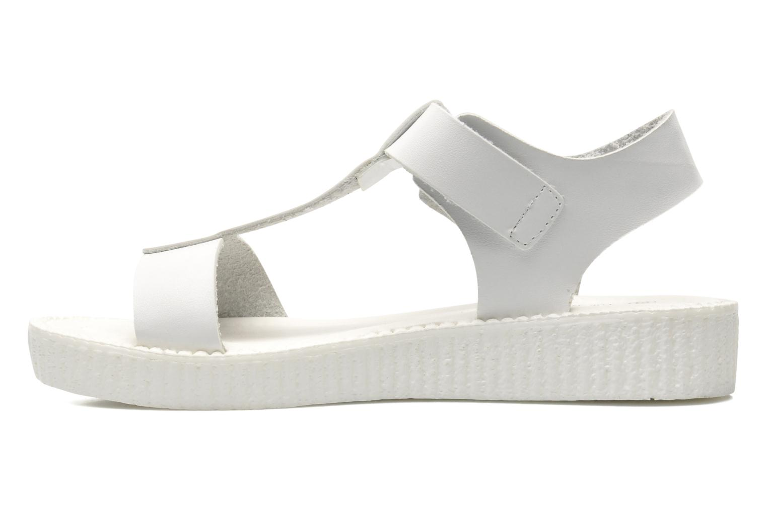 Sandals Divine Factory Adara White front view