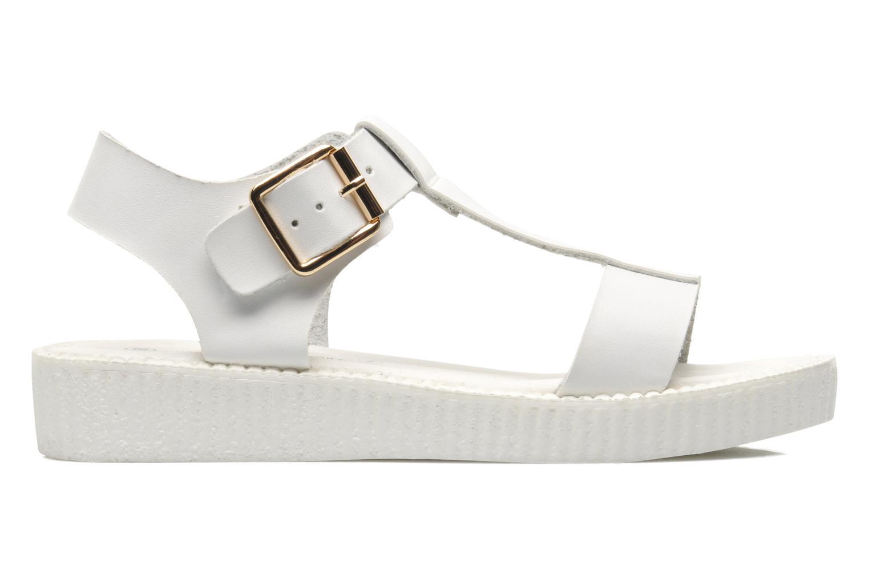 Sandals Divine Factory Adara White back view