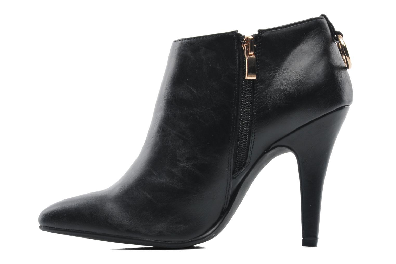 Bottines et boots Divine Factory Algebar Noir vue face