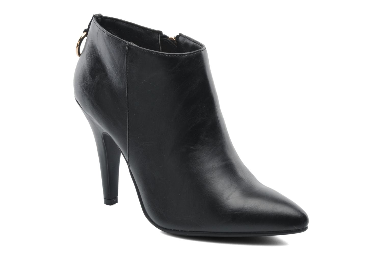Ankle boots Divine Factory Algebar Black detailed view/ Pair view