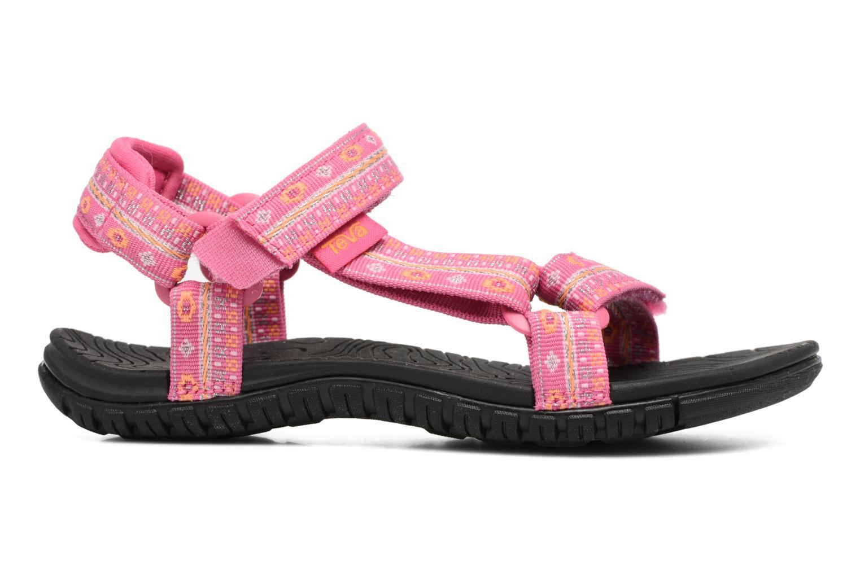 Sandales et nu-pieds Teva Hurricane 3 Kids Rose vue derrière