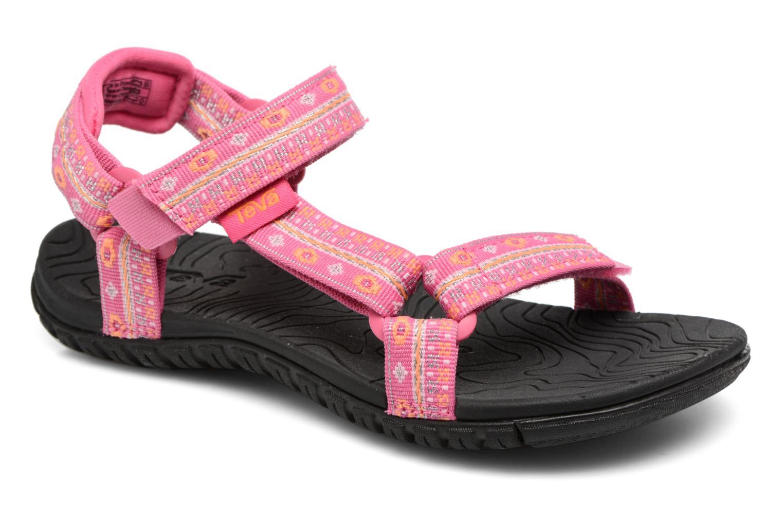 Sandales et nu-pieds Teva Hurricane 3 Kids Rose vue détail/paire