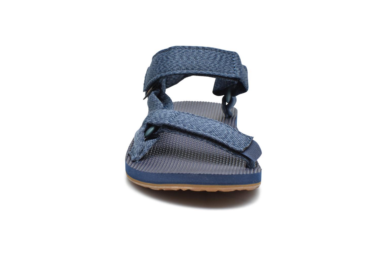 Sandales et nu-pieds Teva Original universal Bleu vue portées chaussures