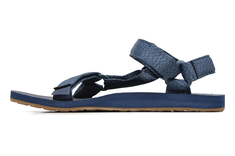 Sandales et nu-pieds Teva Original universal Bleu vue face